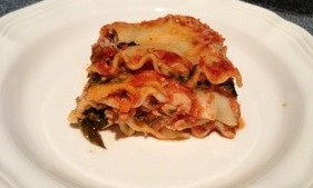 Lasagna made layer by layer by my wife and mom