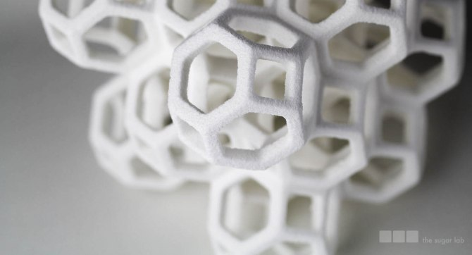 Sugar 3D print