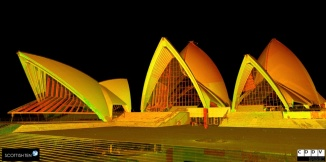 Sydney Opera House Perspective used with permission of Cyark
