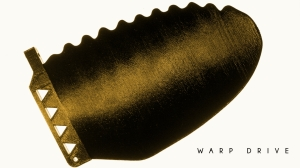 Warp Drive Surf Board Fin [exclusive image courtesy of Roy Stuart and Emma Allison (photographer)].