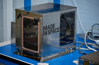 The Made In Space 3D printer will be the first manufacturing device ever used off Earth. It will be installed in the International Space Station to print a series of test items in 2014.