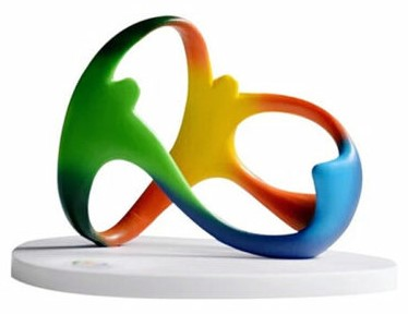 Copy of Rio sculpture that you can buy on eBay.